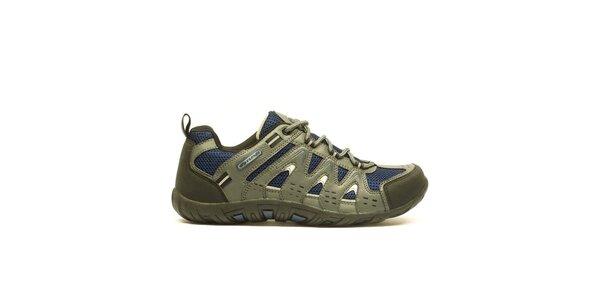 Pánske nízke trojfarebné trekové topánky Numero Uno