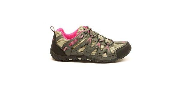 Dámske nízke trojfarebné trekové topánky Numero Uno