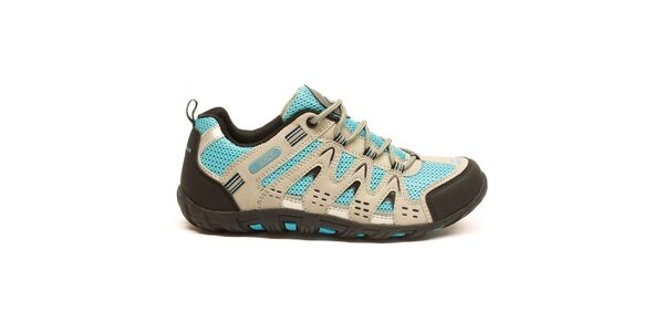Dámske viacfarebné trekové topánky Numero Uno