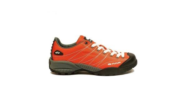 Pánske ľahké trekové topánky Numero Uno - oranžové