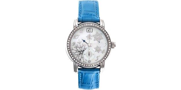 RFS dámske hodinky Russian Winter modré