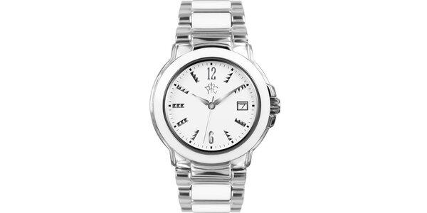 RFS dámske hodinky Yin Yang s bielym ciferníkom