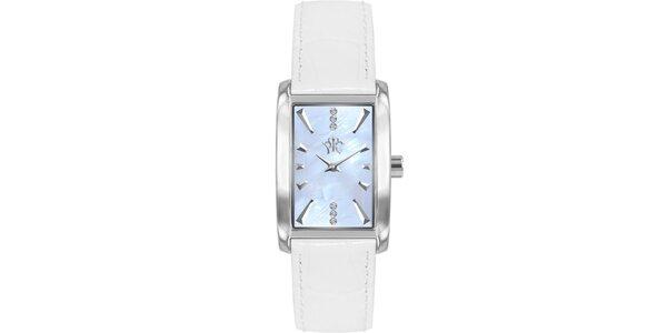 RFS dámske hodinky Prima s bielym remienkom
