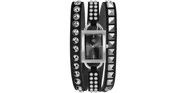 RFS dámske hodinky Rock čierne