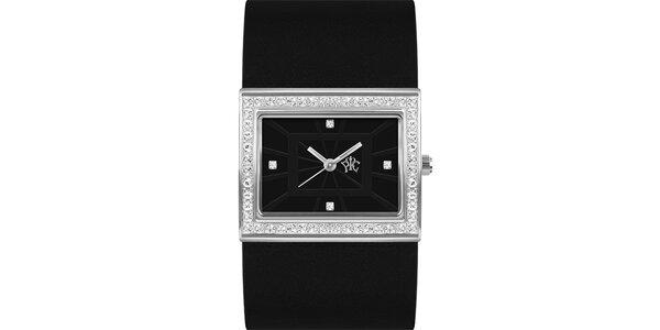 RFS dámske hodinky Labyrinth s čiernym remienkom