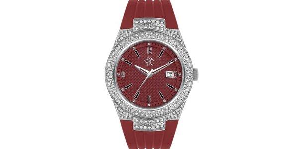 RFS dámske hodinky Velvet červené