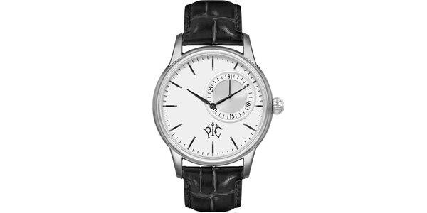 Pánske hodinky Premier s bielym ciferníkom a dátumom