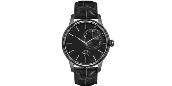 Pánske hodinky Premier čierne s dátumom