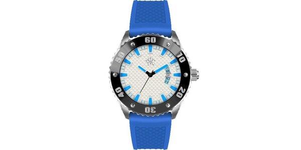 Pánske hodinky v športovom štýle, Rally modré