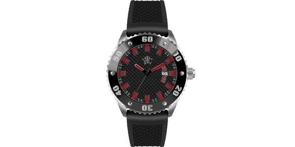 Pánske hodinky v športovom štýle, Rally čierne
