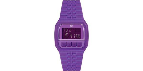 Pánske digitálne hodinky Electro fialové