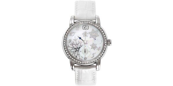 RFS dámske hodinky Russian Winter biele