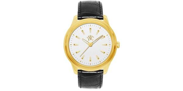 Pánske hodinky Element s ciferníkom zlatej farby
