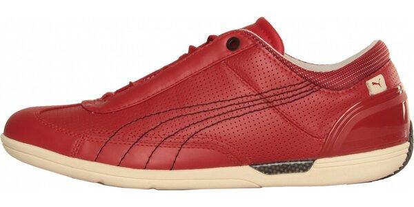 Pánske červené tenisky Puma