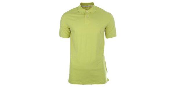 Pánske limetkovo žlté tričko Pietro Filipi