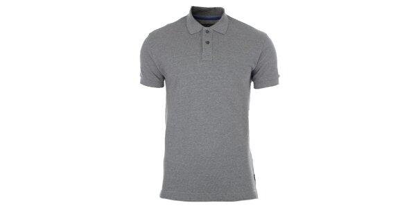Pánske šedé polo tričko Pietro Filipi