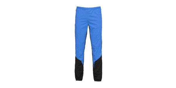 Pánske modré softshellové nohavice Bergson