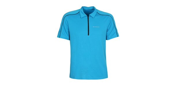 Pánsky modrý dres s krátkym rukávom Bergson