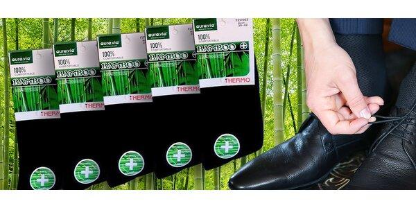 5 párov značkových bambusových termoponožiek!