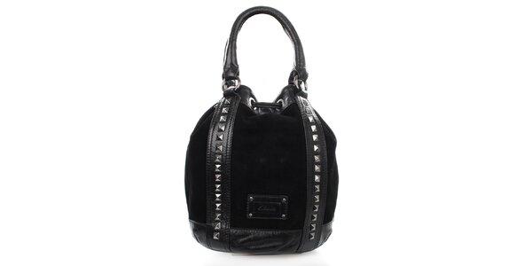 Dámska čierna kabelka s cvokmi Clarks
