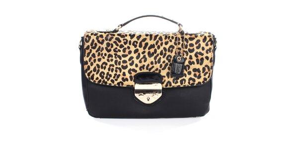 Dámska kabelka s leoparďou klopou Clarks