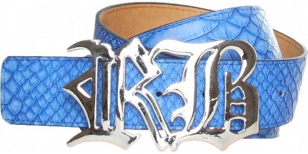 Dámsky žiarivo modrý opasok Roccobarocco