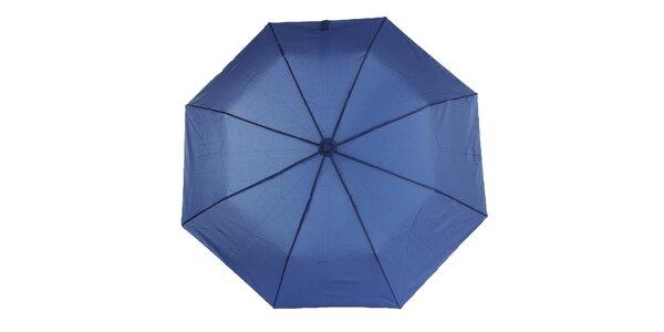 Dámsky modrý vystreľovací dáždnik Ferré Milano