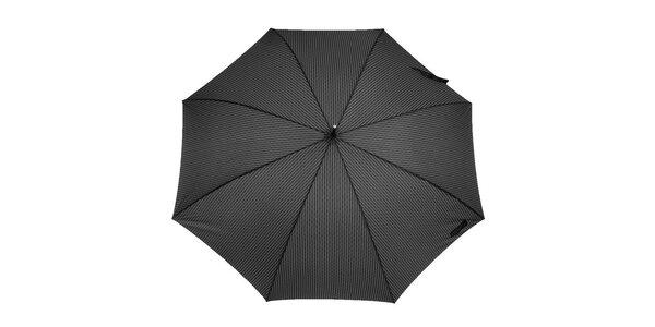 Pánsky dáždnik so šedým vzorom Ferré Milano