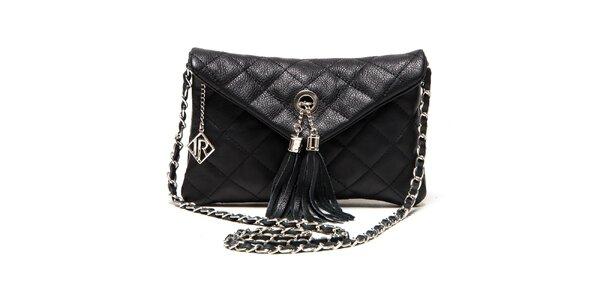 Dámska čierna menšia kabelka Isabella Rhea