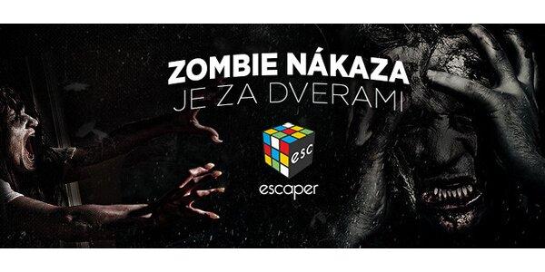 Zombie Escape room + darček za rýchlosť!
