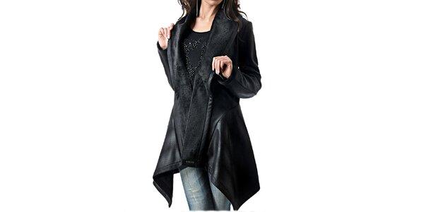 Dámsky koženkový kabátik Female Fashion