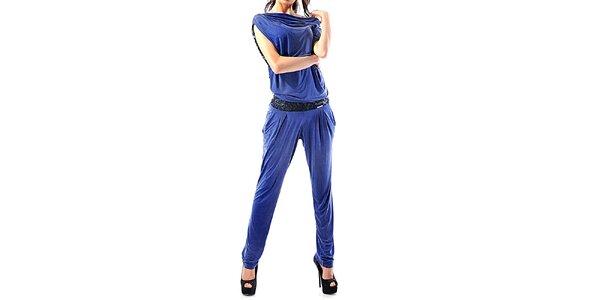 Dámsky modrý overal Female Fashion