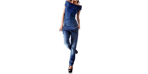 Dámsky denimový overal Female Fashion