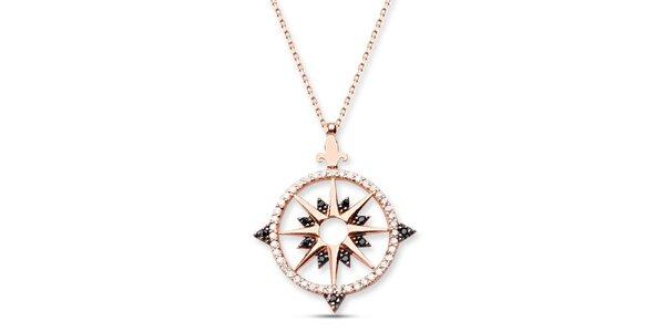 Dámsky strieborný náhrdelník s hviezdičkou Elite Goby