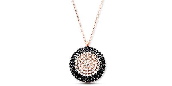 Dámsky strieborný náhrdelník s kolieskom Elite Goby