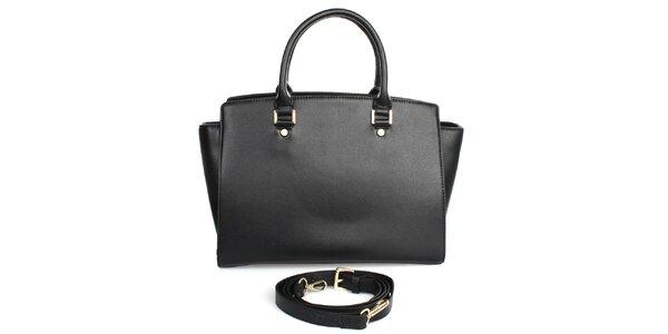 Dámska kabelka v čiernej farbe London fashion