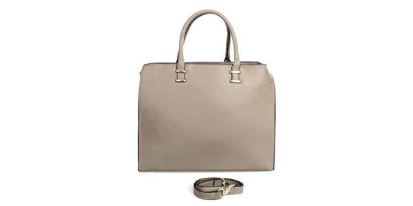 Dámska kabelka so zipsovým zapínaním London fashion