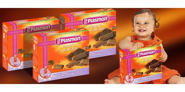 Talianske kakaové sušienky pre deti – 2 balenia