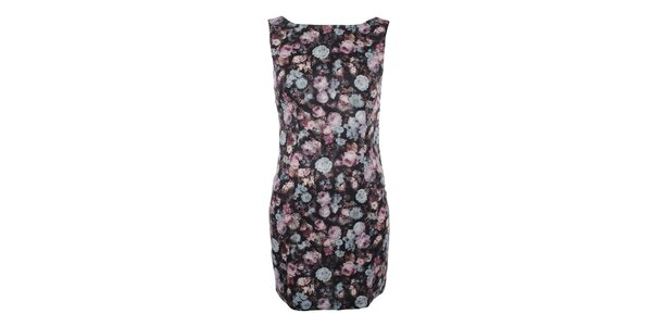 Dámske šaty bez rukávov s kvetinovou potlačou Madam Rage