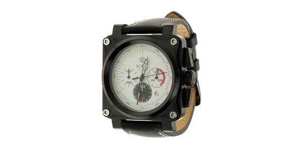 Pánske čierne hodinky Royal London