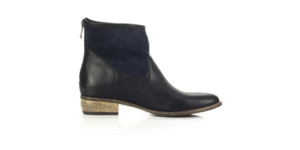 Dámske modro-čierne topánky Joana and Paola