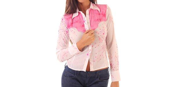 Dámska ružová košeľa Custo Barcelona