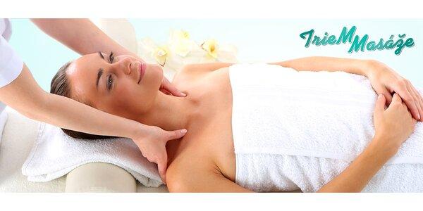 Klasická relaxačná masáž a celotelová masáž
