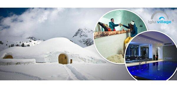 Dobrodružná dovolenka v Iglu v Alpách