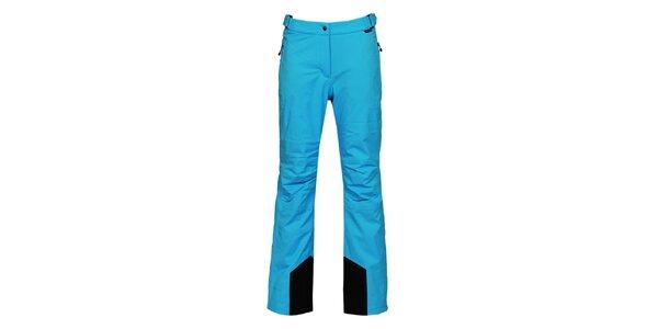 Dámske modré lyžiarske nohavice s membránou Bergson