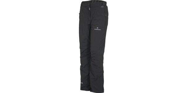 Dámske čierne lyžiarske nohavice Bergson