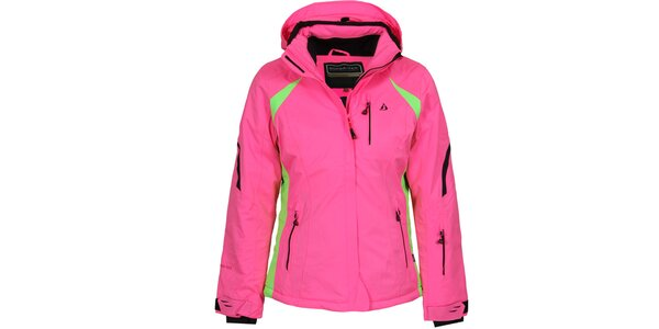 Dámska ružová lyžiarska bunda Bergson
