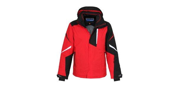 Pánska červená zimná bunda Bergson