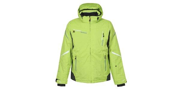 Pánska zelená lyžiarska bunda Bergson