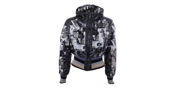 Dámska zimná bunda s potlačou Dislay DY Design